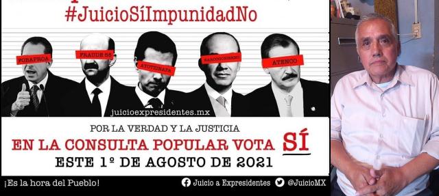 Expresidentes de México son traidores a la patria